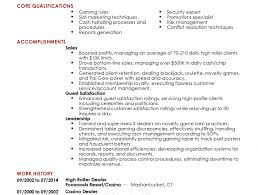 Casino Dealer Job Description For Resume Resume For Housekeeping Housekeeping Resume Samples Cv Housekeeper 17