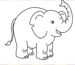 elephant coloring pages for preschool preschool elephant coloring page for kids free animal coloring free coloring