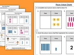 Year 2 Place Value Charts Autumn Block 1 Maths Homework Extension