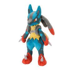 Centre Pokémon Mega Lucario Peluche, 27,9 cm (grande): Amazon.fr: Jeux et  Jouets | Peluche pokemon, Poupées en peluche, Pokémon