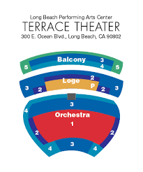 Long Beach Arena Seating Chart Terrace Theater Classical Series Seating Chart Long