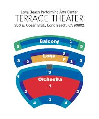 Long Beach Nutcracker Seating Chart Long Beach Terrace Seating Chart Travel Guide