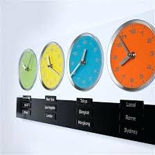 digital office wall clocks digital. Time Zones Wall Clocks Office Walls Multiple Zone Clock Digital