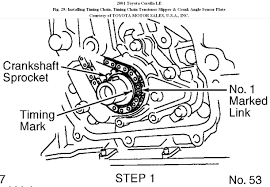 Timing Chain Diagram: How to Replace a Timing Chain? Timing Chain ...