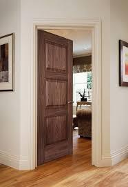 3 panel wood interior doors. Solid Core Natural Walnut Veneer MDF 3 Panel Interior Doors Wooden Wood