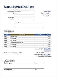 Expense Reimbursement Template Form Template Expense Reimbursement Form Expense Reimbursement Form 13