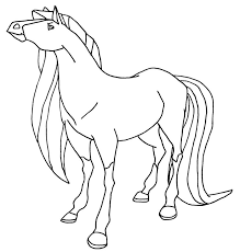 Small Picture Coloring Pages Horse Color Page Tryonshorts Horseland Coloring