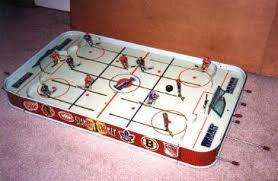 table hockey game. y eagle hockey game table