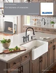 Blanco Sink Colors Chart Blanco 2019 Showroom Catalog By Blanco Issuu