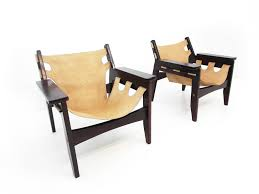 sergio rodrigues kilin oca chairs pair rosewood 2