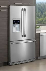 electrolux french door fridge. ew23bc85ks electrolux - counter depth french door refrigerator with wave-touch controls stainless steel fridge f