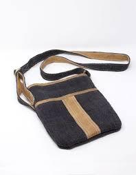ganesh himal hemp leather travel purse