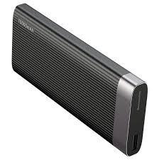 <b>внешний аккумулятор baseus</b> parallel line 10000mah черный ...