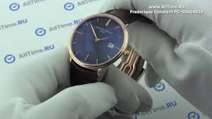 Обзор. <b>Мужские</b> золотые наручные <b>часы Frederique</b> Constant FC ...