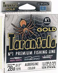 <b>Леска Balsax Tarantula Gold</b>, 100 м, 0,32 мм, 13,0 кг — купить в ...
