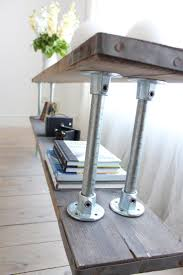 Beautiful Steel Pipe Furniture 26 Steel Pipe Furniture Manufacturers Double  Shelf Console Table: Large Size ...