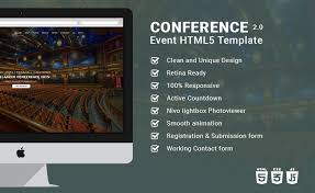 Event Website Template Fascinating Responsive Event Planning Bootstrap HTML48 Template Conference