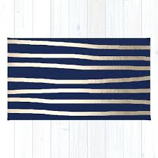 drawn stripes white gold sands on nautical navy blue rug by navy and white rug navy