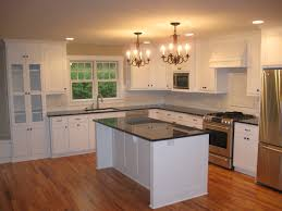 custom cabinets alluring white design kitchen with and black awesome metal granite curved wooden bar simple