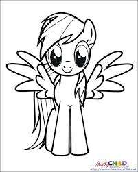 Small Picture My Little Pony Coloring Pages Free Pdf Sheet vonsurroquen