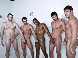 Shower locker rooms orgy