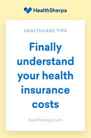 finally understand your health insurance costs when choosing a health insurance plan through the marketplace it s a good idea to understand common