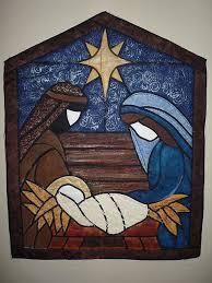 Nativity Quilt | Glass, Patchwork and Christmas nativity & nativity quilt / bello para hacerlo en repujado, patchwork decoupage o  esmalte sobre madera Adamdwight.com