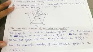 The chromatic number of a graph is the minimal number of colors for which a graph coloring is possible. What Is Peterson Graph With Example And How To Find Out Its Chromatic Number Youtube
