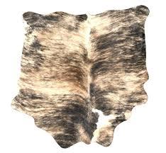 image 0 brindle cowhide rug gray black white light brown