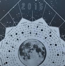 Lunar Chart 2015 Vanessa Adams