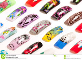 Nail Art Handmade Stock Photo - Image: 53221686