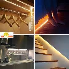 Chỉ 130,500đ Đèn Led dây cảm ứng tự động sáng khi có người di chuyển ,tiện  lợi dễ dàng lắp đặt ở nhiều vị trí trong nhà.