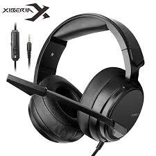 Xiberia <b>NUBWO N12 PS4</b> Casque Bass Headset PC Gaming ...