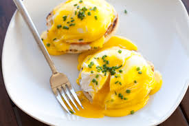 Image result for image of eggs benedict