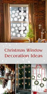 10 bright and sparkling christmas window decoration ideas