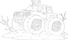 Monster Truck Coloring Pages To Print Expert Monster Truck Coloring
