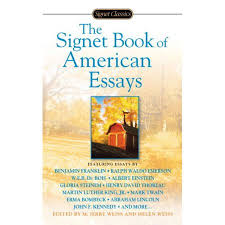 the signet book of american essays com the signet book of american essays