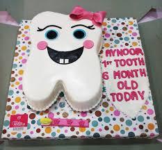White Teeth Kids Birthday Cake Customized Cakes In Lahore