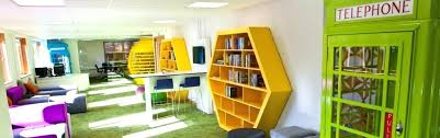 cool office spaces. Shocking It Office Design Ideas Cool Funky Collaborative Space Work Spaces