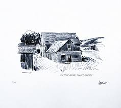 architectural buildings sketches. 106-Mile House Sketch By Peter Ewart Architectural Buildings Sketches