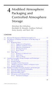 Pdf 4 Modified Atmosphere Packaging And Controlled