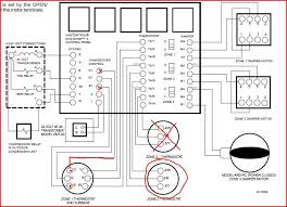 we have a two zone gas hot air system the master thermostat graphic