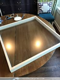and with that i had a completely built and very large shadow box frame i finished it by filling the nail holeitered joints with wood filler