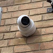 Image result for mounting cameras front of house turret