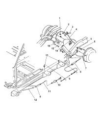 2004 dodge dakota parking brake cable diagram 00i79693