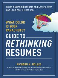 Virtual Resumes What Color Is Your Parachute Guide To Rethinking Resumes