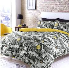 new york bedroom set bedding photo new city monochrome quilt duvet cover set new york giants