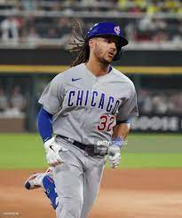 Michael Hermosillo of the Chicago Cubs ...