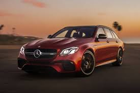 Both the e63 s sedan and wagon are. Give Pop The Ultimate Dadmobile The Mercedes Amg E63 S Wagon News Cars Com
