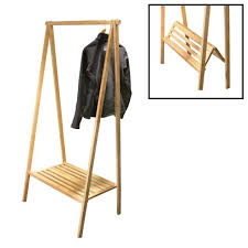 Collapsable Coat Rack Gorgeous Collapsible Garment Rack Portable Folding Clothes Rack Creative Life